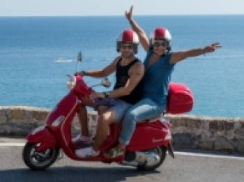 GPS & Vespa Tours in Liguria