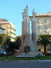 Monument for those killed in action in Lavagna