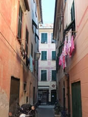 In the small alleys of Lavagna