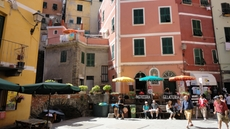 The vivid town of Vernazza in the Cinque Terre