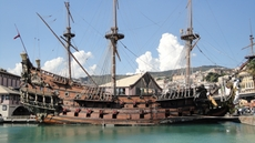 Il Galeone - the famous ship of Roman Polanski´s movie