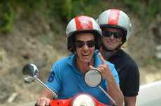 Teamevent Vespa-Tour in Ligurien